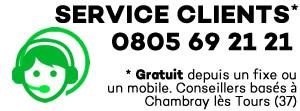 Service Clients gratuit