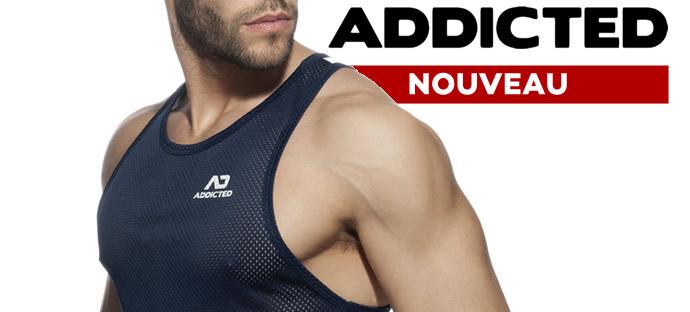 Débardeur athlétique réalisé dans un tissu très doux en polyester mesh, donc très respirant et agréable à porter quand il fait chaud.